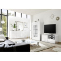 Miro 121 cm white gloss decorative TV unit