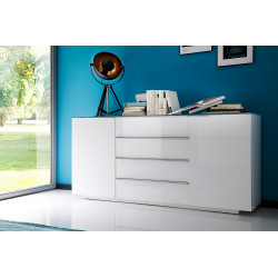 Augusta I - high gloss sideboard