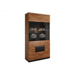 Vigo assembled large solid wood display cabinet