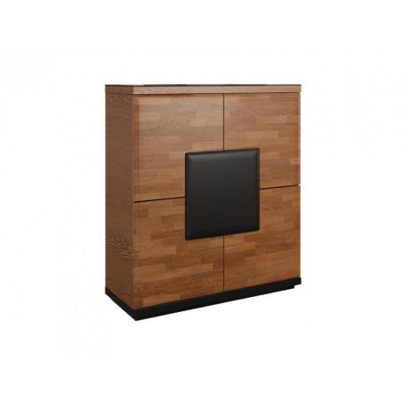 Vigo assembled bar cabinet