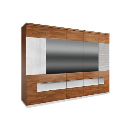Vigo 285cm 5 doors wardrobe