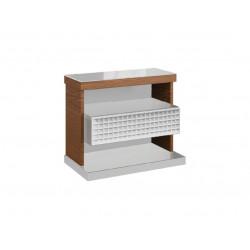 Vigo set of 2 bedside cabinets