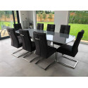Xander 180-230cm extendable dining table