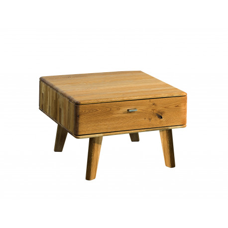Dallas small coffee table in various wood option