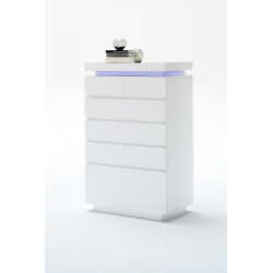 Avanti V - gloss sideboard with LED lights