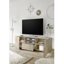 Diana 181cm sonoma oak TV Unit with LED lights