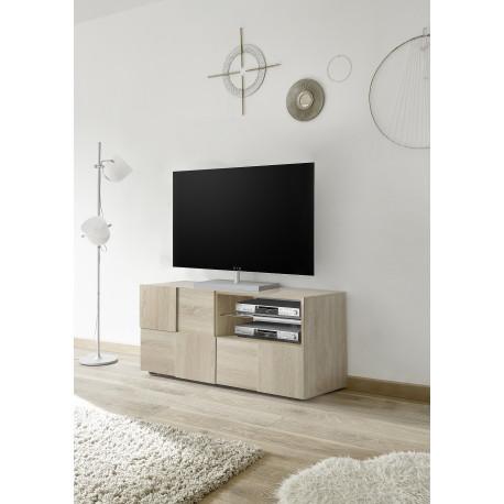 Diana 121cm sonoma oak TV Unit with LED lights