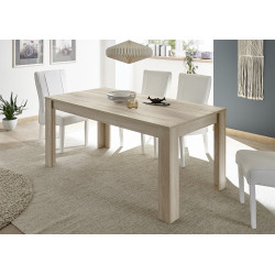 Miro decorative oak finish dining table
