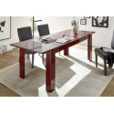 Miro decorative red gloss dining table