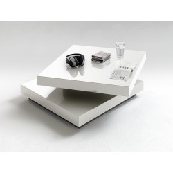 Halo white high gloss coffee table