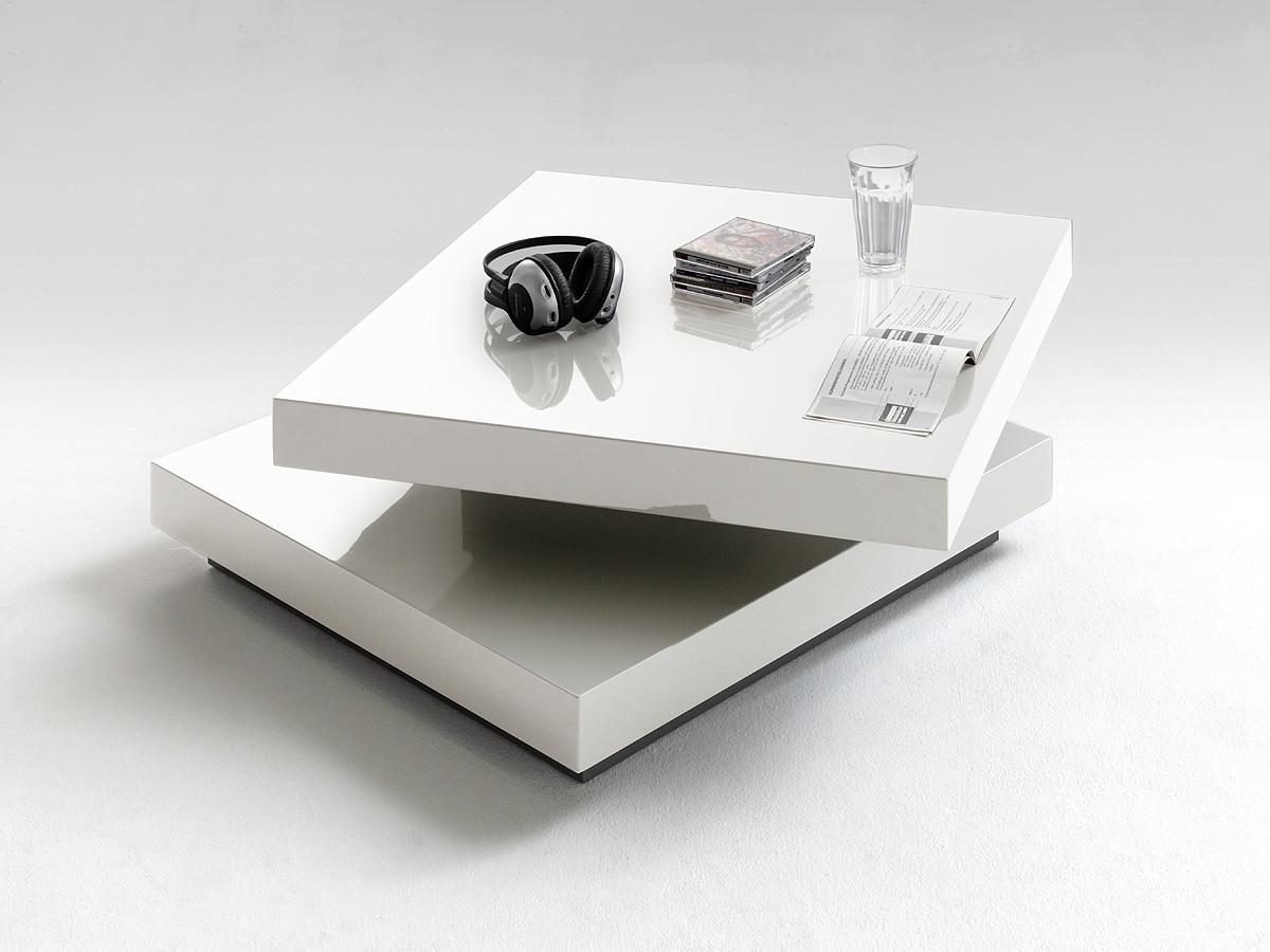 Halo White High Gloss Coffee Table