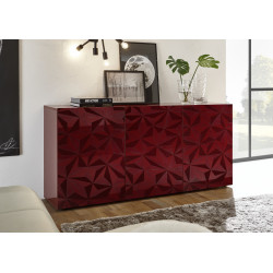 Prisma II 181 cm red gloss decorative sideboard