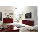 Prisma II 181 cm red gloss decorative sideboard