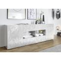 Prisma 241 cm white gloss decorative sideboard