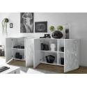 Prisma II 241 cm white gloss decorative sideboard