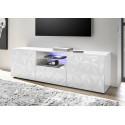 Prisma 181 cm white gloss decorative TV unit