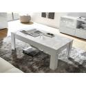 Prisma decorative white gloss coffee table