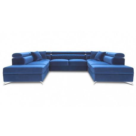 Metro - U Shape Modular Sofa with ottoman`s