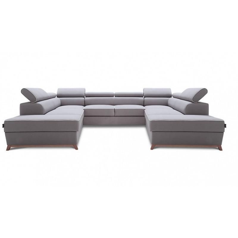 Novel U Shaped Modular Sofa Bed Sofas 3495 Sena Home Furniture