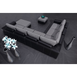 Castello Modulio U-shaped Modular Sofa