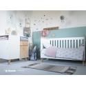 Magi cot bed converts to junior bed