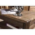 Atlanta II coffee table in various wood option
