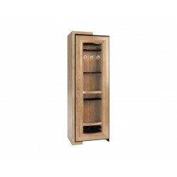 Corino assembled rotating bar cabinet