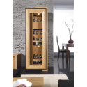 Corino assembled rotating bar cabinet