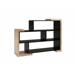 Corino low freestanding bookshelf