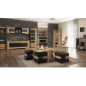 Corino 192cm assembled sideboard with drink section