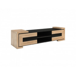 Corino 192cm assembled TV unit with LED