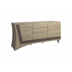 Korso III assembled solid wood sideboard