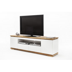 Chiaro large TV stand in natural oak