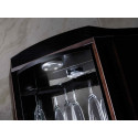 Diuna corner rotating bar cabinet