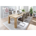Salvo II modern dining chair with pocket springs