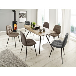 Naxos dining chair in various colours