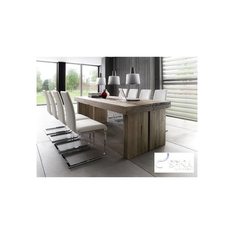 Dublin Solid Wood Dining Table Dining Tables Sena Home Furniture