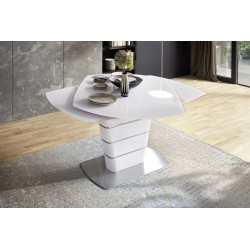 Zolder 130-190cm swivel extendable dining table