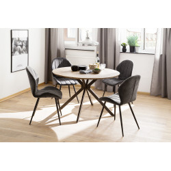 Firenza 120cm round table