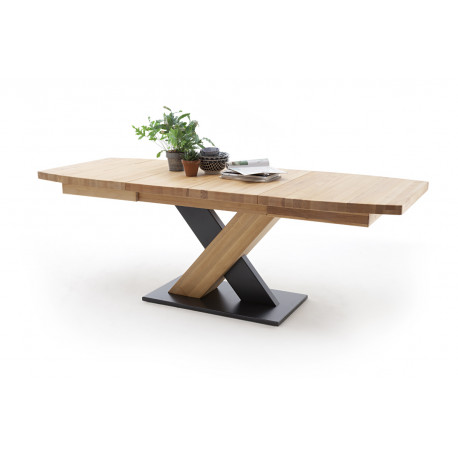 Mendoza B extendable wood dining table