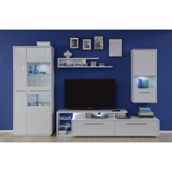 Cuba 307cm wall unit composition