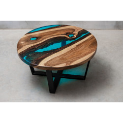 Aria bespoke resin coffee table
