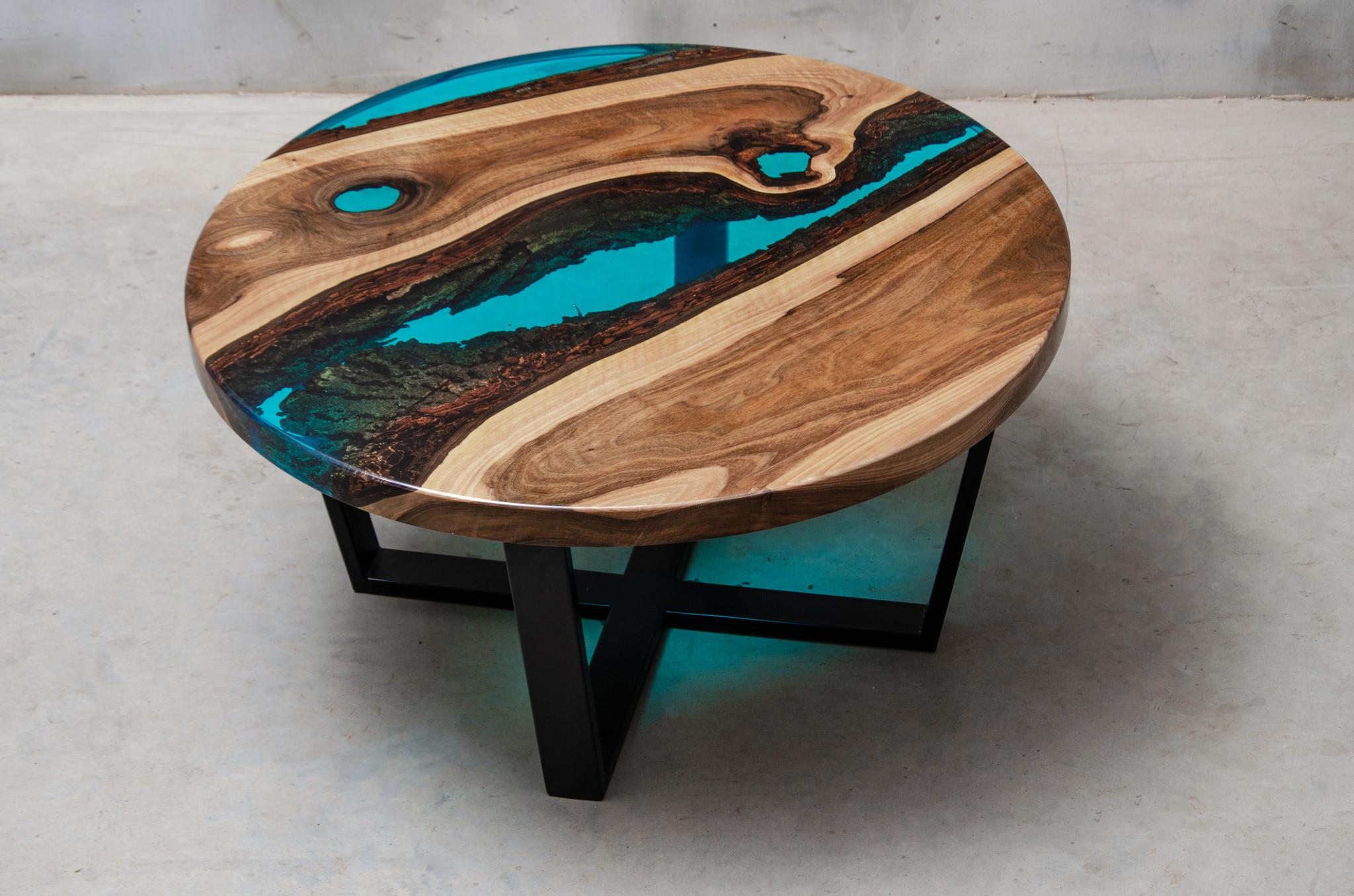 new arrival 6769e bde15 Aria bespoke resin coffee table