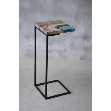 Aria resin side table