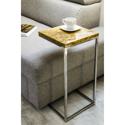 Aria II side table high gloss