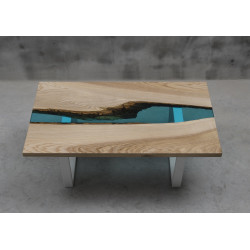 Aria II resin coffee table