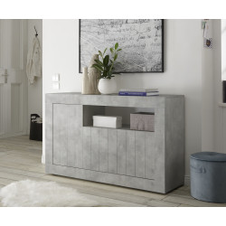 Fiorano 138cm sideboard in beton grey finish