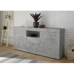Fiorano 184cm sideboard in beton grey finish