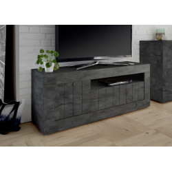 Fiorano 138cm TV unit in oxide finish