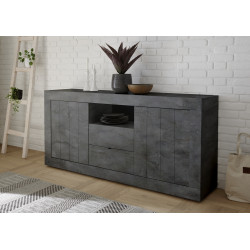 Fiorano 184cm sideboard in oxide finish